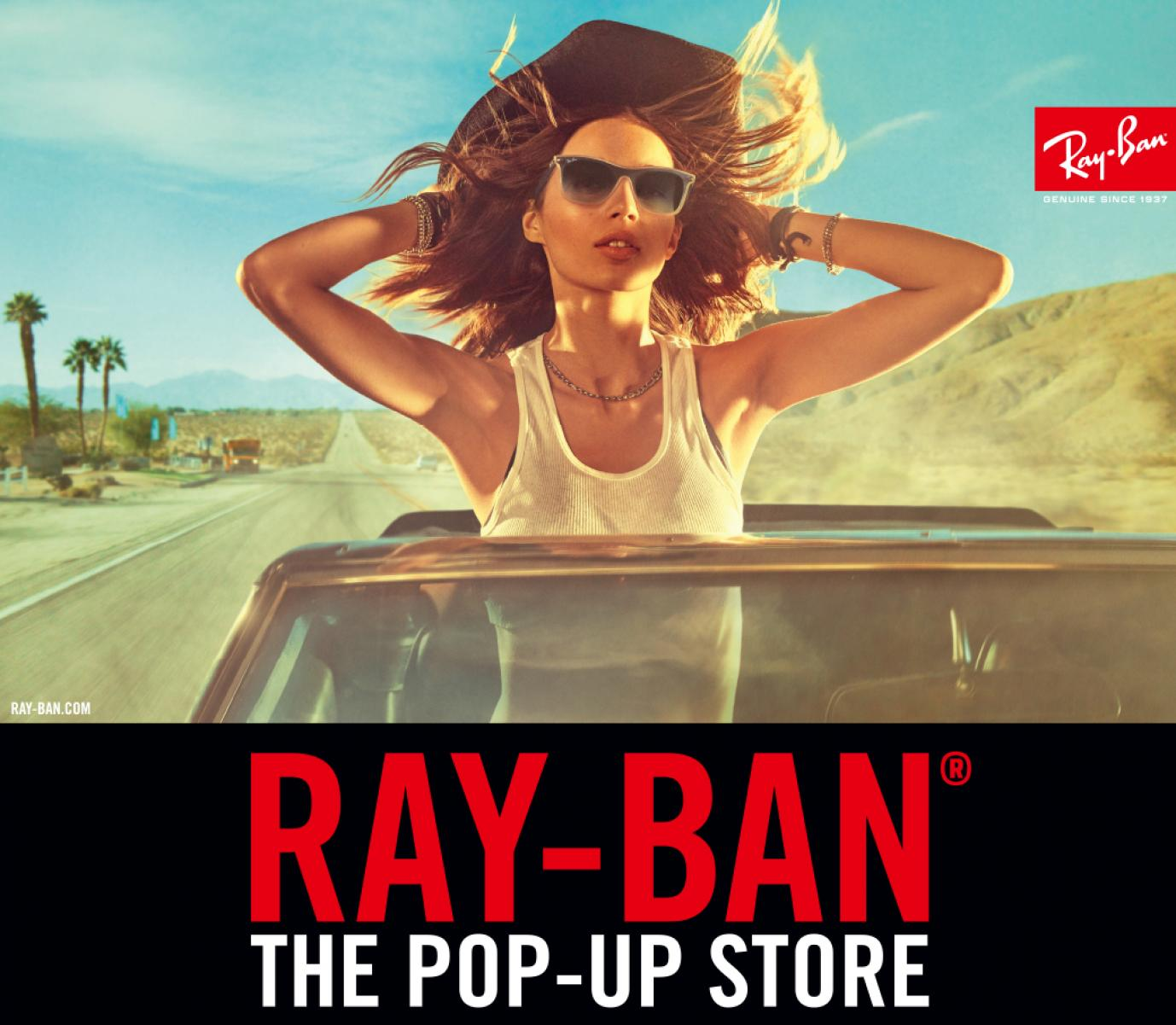 "<川崎ラゾーナ店>Ray-Ban""POP-UP STORE"