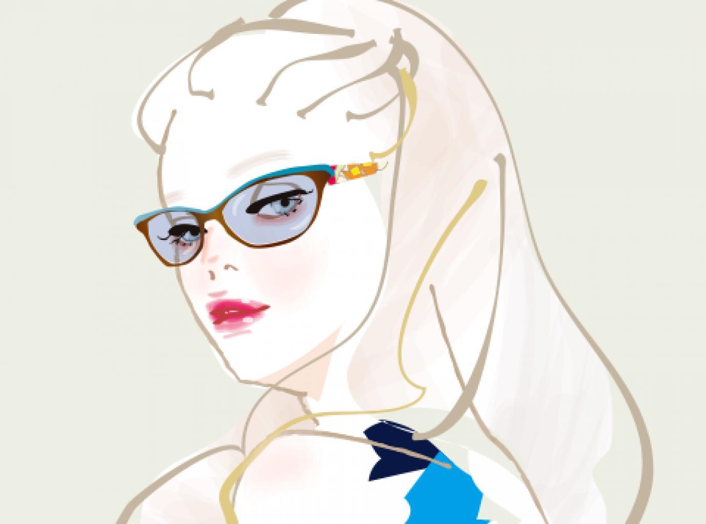 <Lafont×Transitions>大人の女性のための調光レンズ